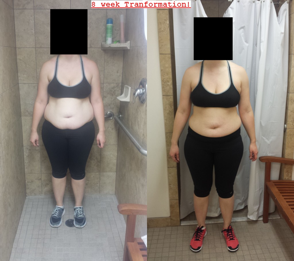j before and after front