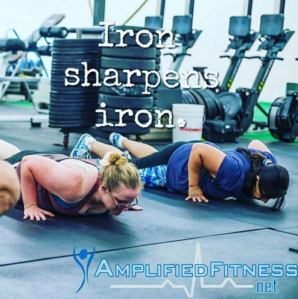 Iron sharpens iron 3
